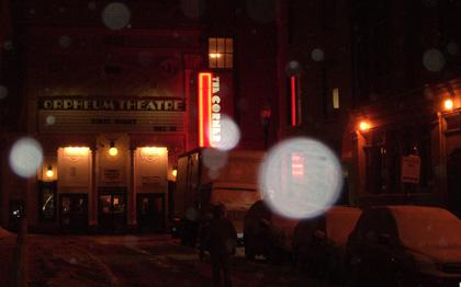 Orpheum Theater in Boston - First Night 2009