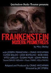 Frankenstein audio horror drama story