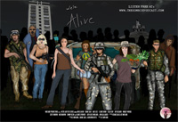 We're Alive Zombie Podcast