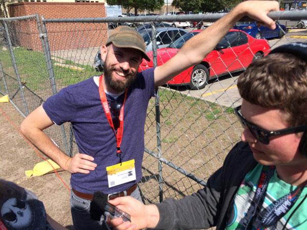 Interview with Radio New Zealand #SXSW2015