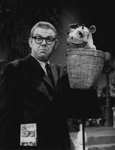 Stan Freberg and Grover, Courtesy, wikiCommons